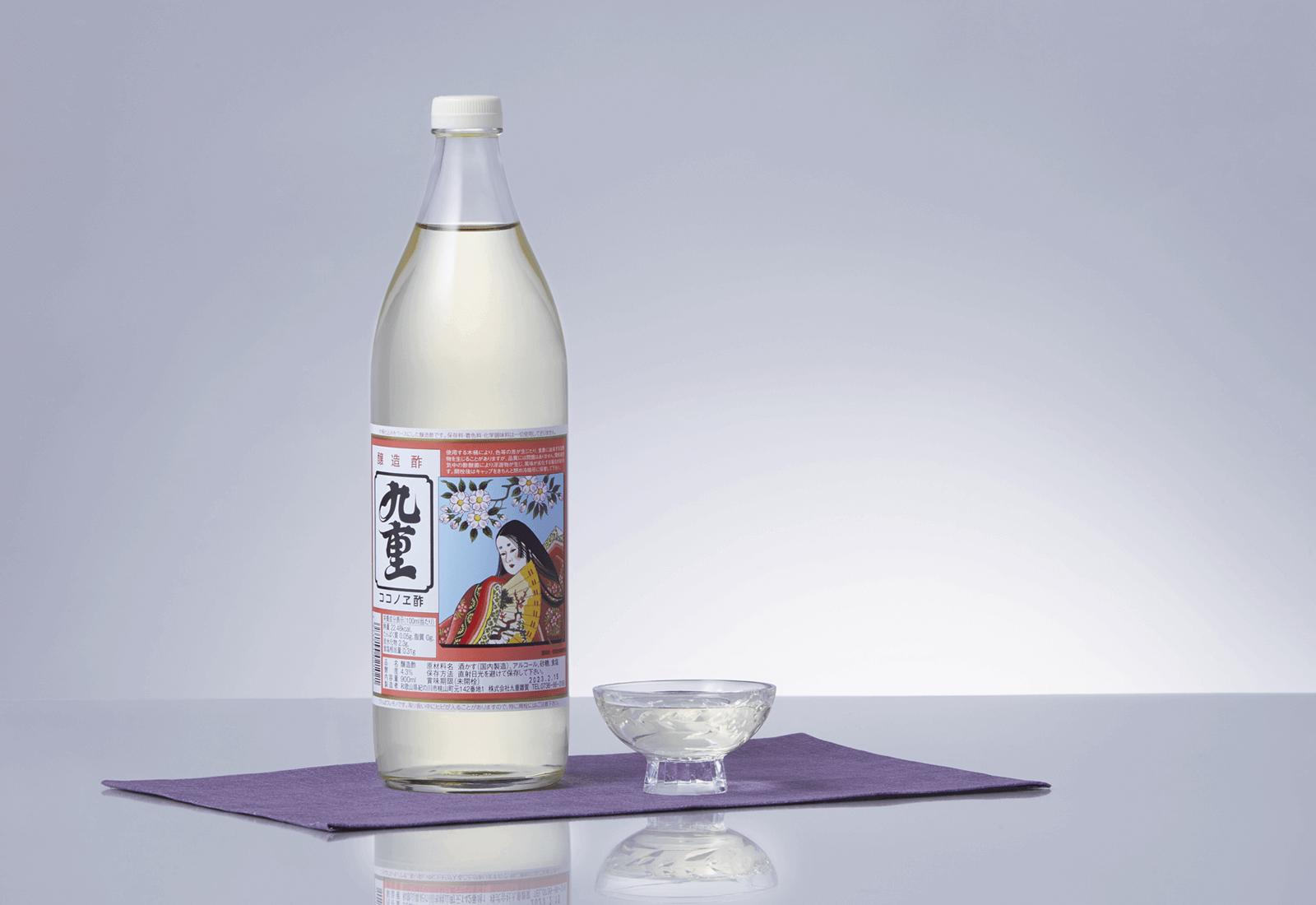 地元和歌山で愛されて100有余年「お姫さんのお酢」九重酢